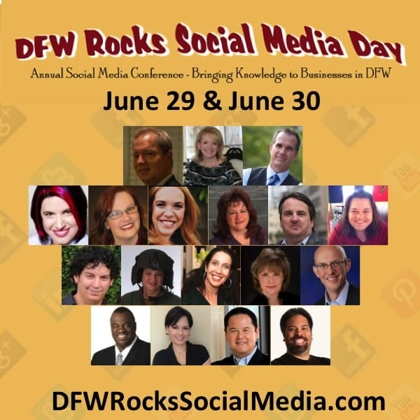 Thank You from DFW Rocks Social Media Day 2013