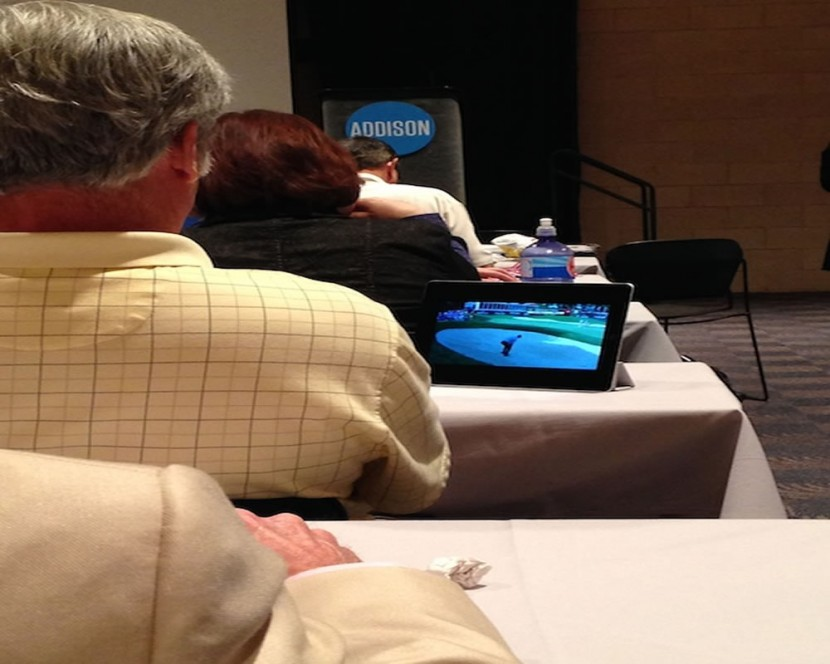 Busted: Watching the Quicken Loans National During the Keynote