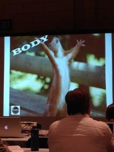 Praise Jesus Squirrel