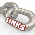 chain links with the word link