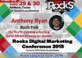 Anthony Ryan, Rocks Talks Social Media Speaker