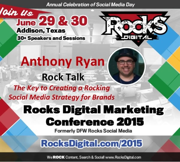 Anthony Ryan, Social Media Speaker