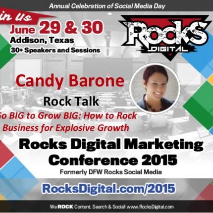 Candy Barone, Biz Development Speaker