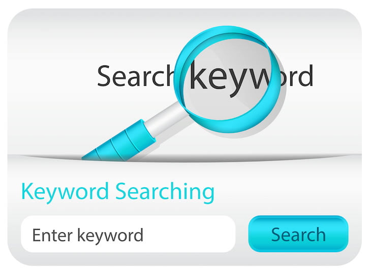 Keyword dating search
