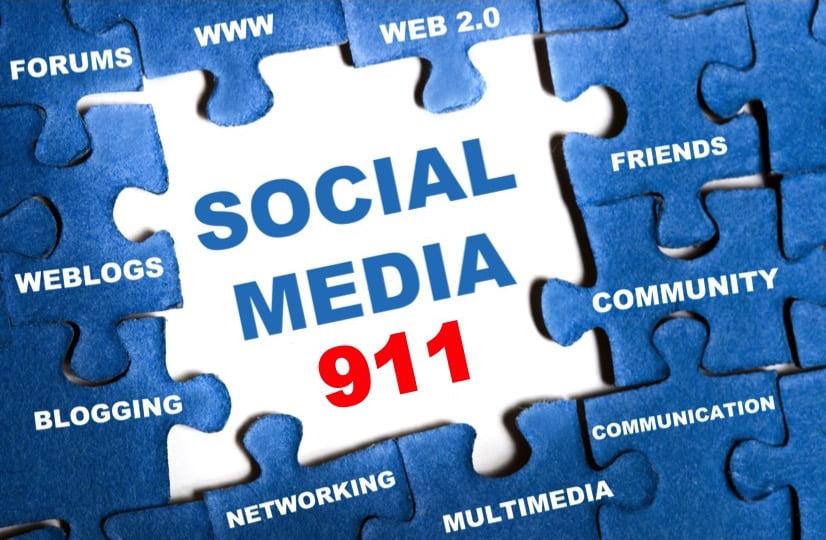 Not Using Social Media? Social Media 911