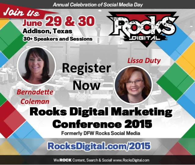 Ready to ROCK Digital? The Must Attend Digital Marketing Conference of 2015