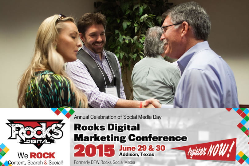 The Key to Networking at Rocks Digital and Other Conferences