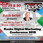 Butch Bellah, Sales Expert to Speak at Digital Marketing Conference in Dallas