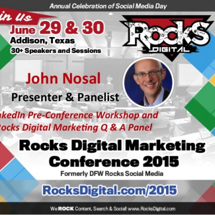John J. Nosal to Present Pre-Conference LinkedIn Workshop