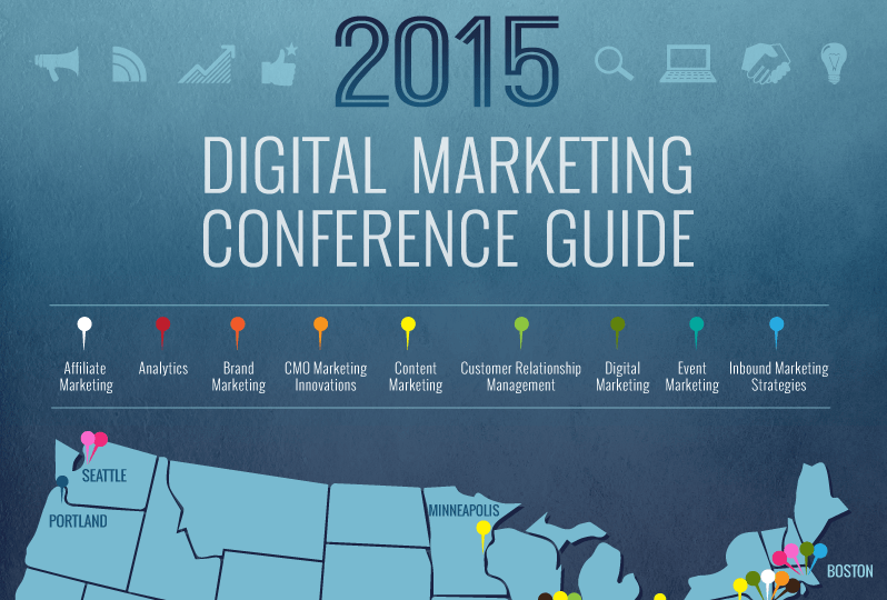 Why You Need Digital Marketing Conferences 2015 #Infographic