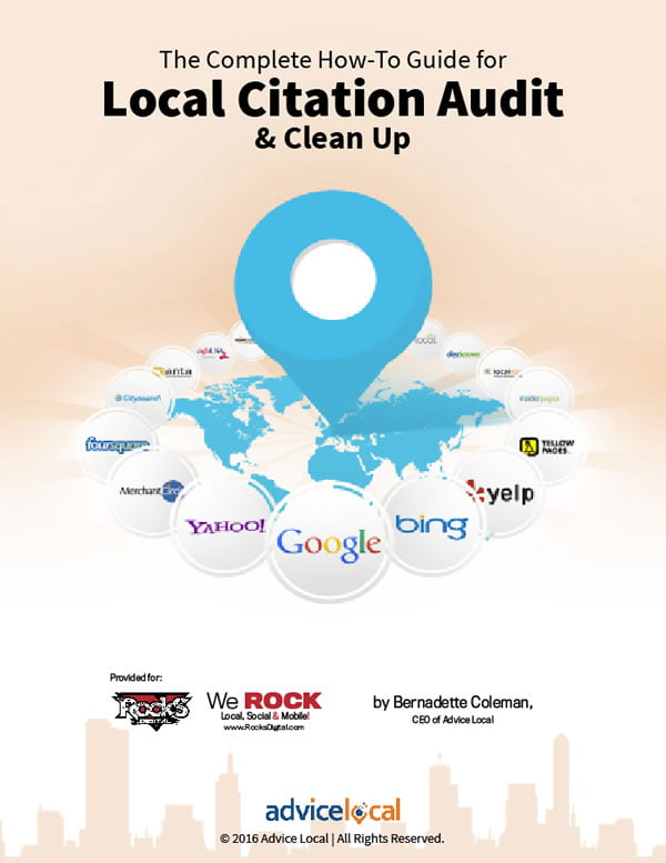 Local Citation Audit and Clean Up