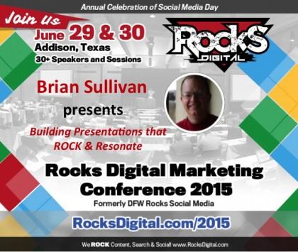 Brian Sullivan, UX and Slideshare Expert, To Speak On Building Presentations that Rock