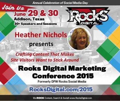 Heather Nichols to Speak on Crafting Content that Sticks