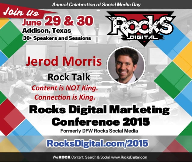 Jerod Morris to Speak at Rocks Digital Marketing Conference 2015