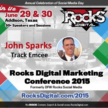 John Sparks to Emcee The Social Media Track
