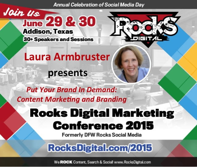 Laura Armbruster to Speak on Content Marketing
