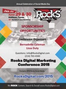 Rocks Digital 2015 Sponsor Packet Cover