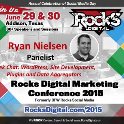 Ryan Nielsen, WordPress Developer to Speak on Geek Chat Panel
