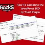 How To WordPress SEO Yoast Plugin