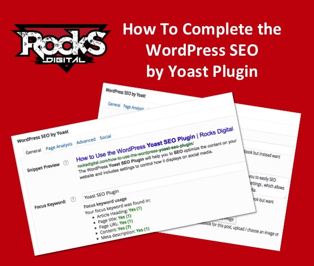 How to Complete the WordPress SEO by Yoast Plugin
