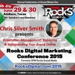 Chris Silver Smith, Reputation Management Expert to present at Rocks Digital Marketing Conference 2015
