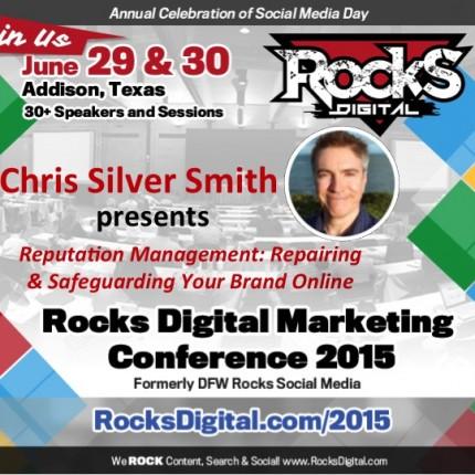 Chris Silver Smith to Speak on Online Reputation Management
