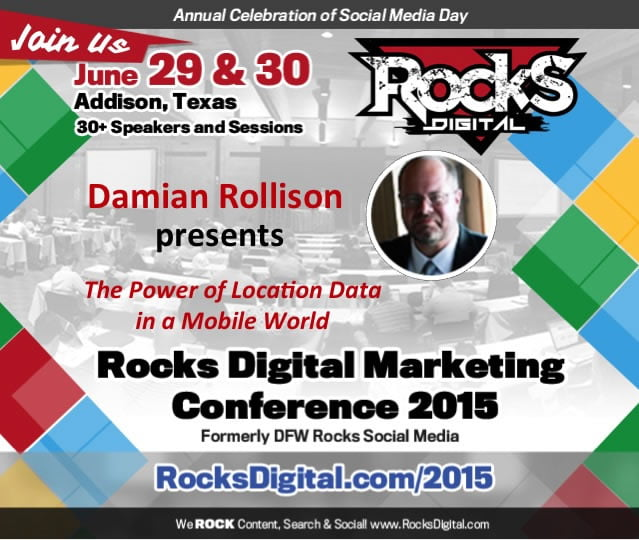 Damian Rollison to Speak on Location Data for Local Business