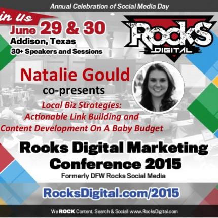 Natalie Gould To Speak on Local Biz Strategies for Content Development