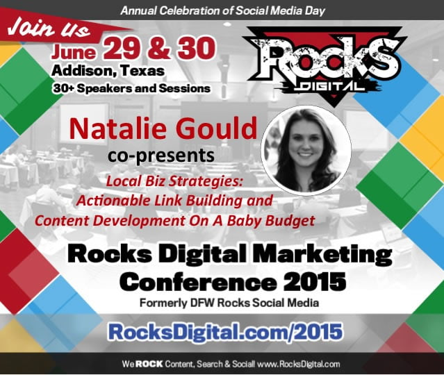 So you don't have million dollar marketing budget, but you need to compete with companies online that do? Link building and content development is one area where you can compete with the big conglomerates. Learn HOW in this session co-presented by Natalie Gould and Rachel Morgan.