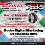 Rachel Morgan, SEO Speaker presents at Digital Marketing Conference in Dallas