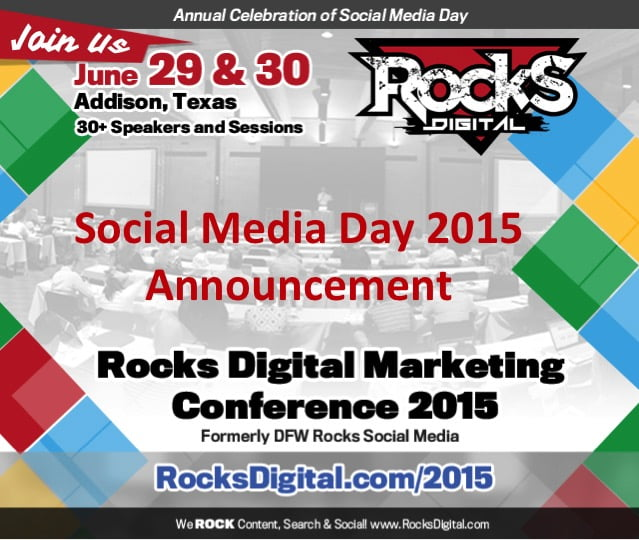 Are You Ready for the Largest Social Media Day Celebration in Texas?