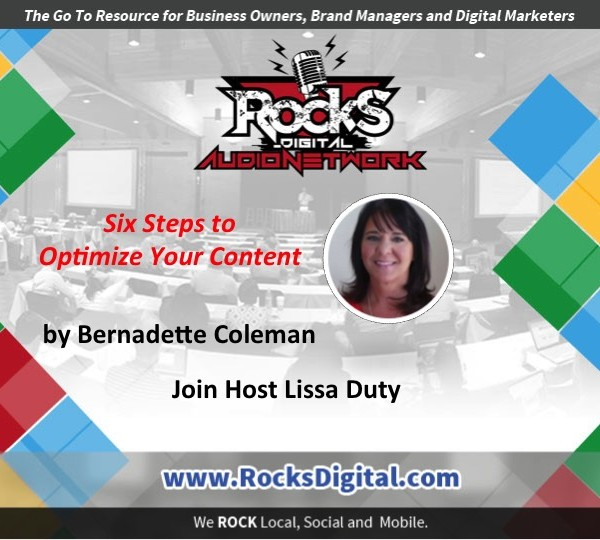 How To Optimize Your Content [Audio]