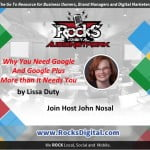 Why You Need Google and Google Plus More than It Needs You Audio