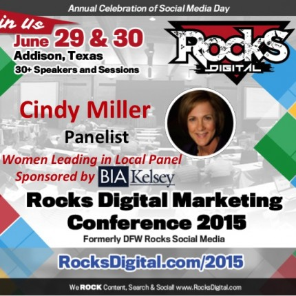 Cindy Miller, Market Researcher on Women Leading in Local Panel