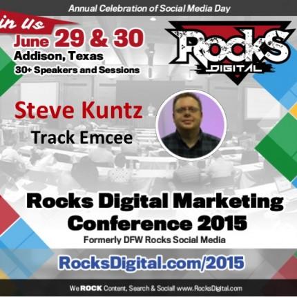 Steve Kuntz to Emcee Content Creation Track at Rocks Digital