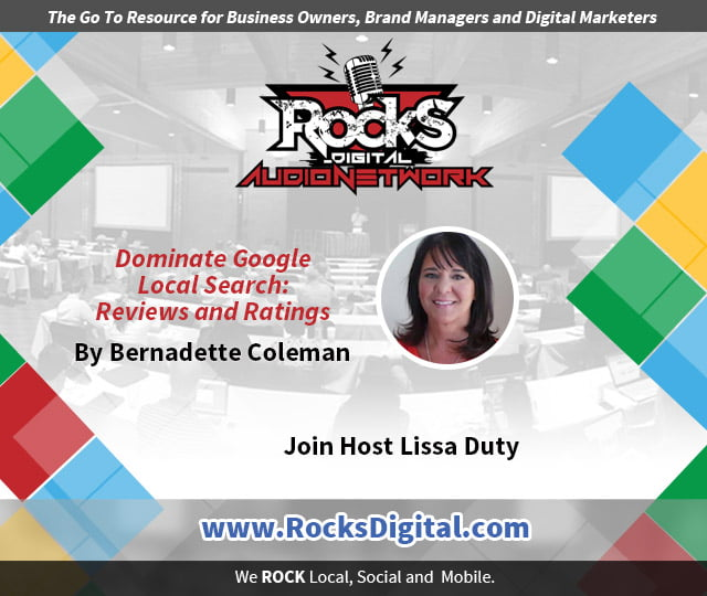 Dominate Google Local Search: Reviews and Ratings - Bernedette Coleman