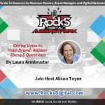 Giving Voice To Your Brand - Laura Armbruster