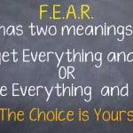 Overcoming Fear of Failure to Create Success
