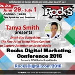 Tanya Smith Rocks Digital Marketing Conference Dallas 2016