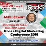 Mike Stewart Local SEO Speaker Rocks Digital Marketing Conference 2016