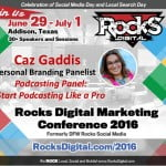 Caz Gaddis Podcasting Panelist