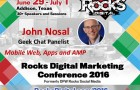 John Nosal Shares His Web Expertise on the Geek Chat Panel