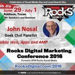 John Nosal, Rocks Digital Marketing Conference Dallas 2016