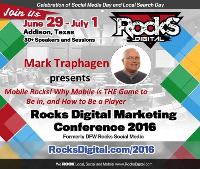 Mark Traphagen Rocks Digital Marketing Conference Dallas 2016