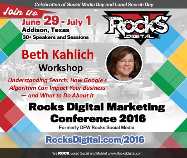 How Google's SEO Algorithm Can Impact Your Business – Rocks Digital 2016