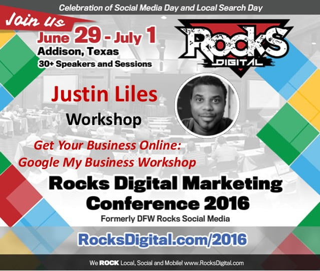 Get Your Business Online: Google My Business Workshop – Rocks Digital 2016 Live Blog
