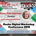 Karen Platt, Rocks Digital Marketing Conference 2016