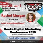 Rachel Morgan, Rocks Digital Marketing Conference 2016