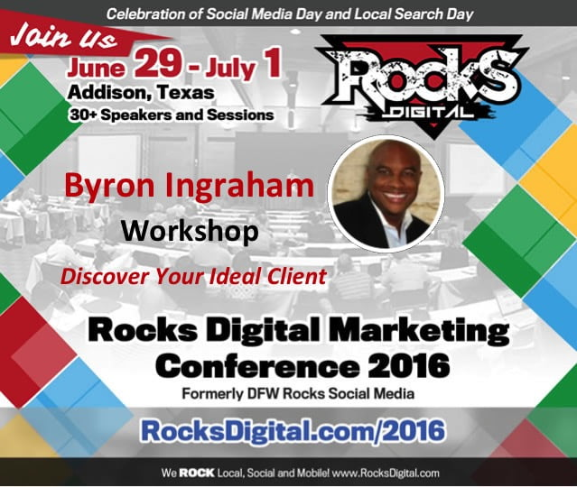 Byron Ingraham Workshop Rocks Digital