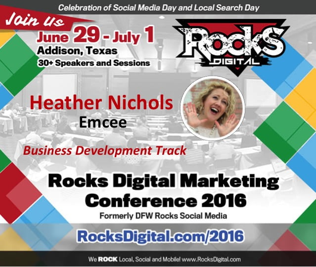 Heather Nichols Brings Her Bubbly Personality to Rocks Digital as an Emcee